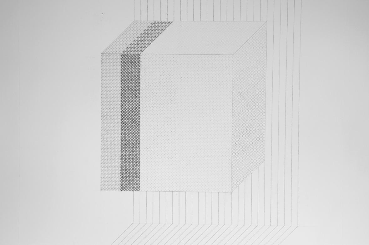UGLyD (2017) Wall drawing, graphite. (c) 2017 Walter van Rijn