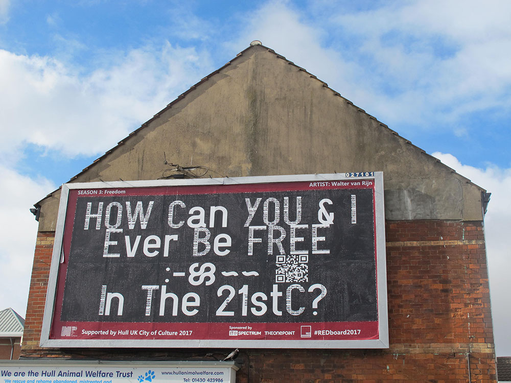 Walter van Rijn, How Can You And I Ever Be Free In The 21st C? (2017)