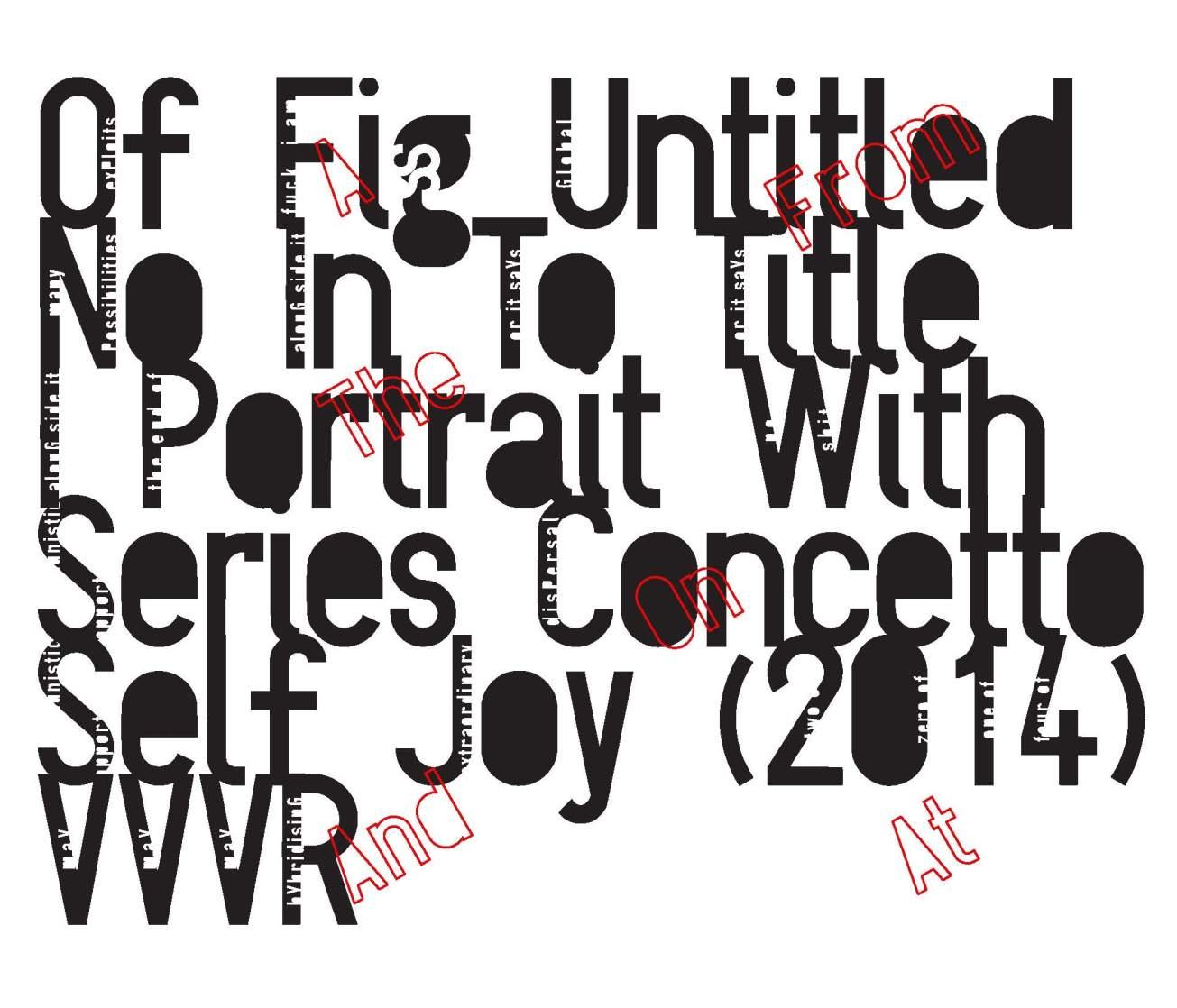Walter van Rijn, Of Fig Untitled (2014) Artist's Book