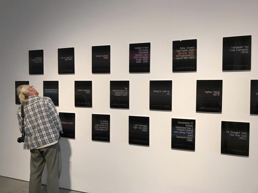 Time After Time Exhibition Opening, John Hansard Gallery 2018. Walter van Rijn UGLyD 2018
