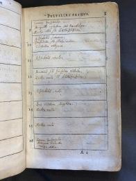 Paaw 1601 Hortus Catalogu